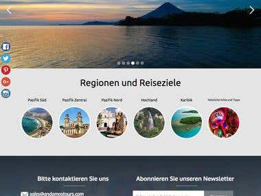 Andamos Tours Website