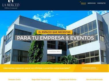 """La Merced"" Building Website"
