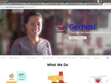 website gerhati project
