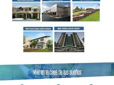 Página web (La Inmobiliaria)