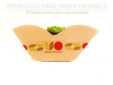 Diseño de empaque (Urban Organics)