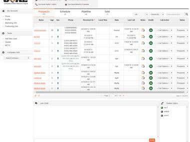 Leads Management Portal
