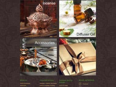 www.aromafume.com (eCommerce)