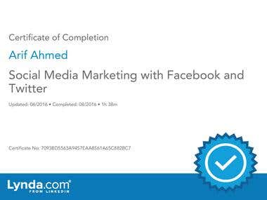 Social media marketing with Facebook and Twitter