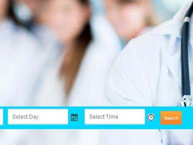 Doctors Booking Website