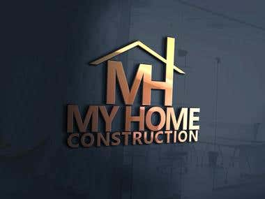 My Home Construction Logo