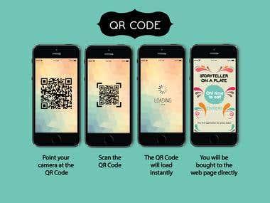 QR code & Web design