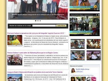 """Personal Web Site """"Beatriz Mojica Morga"""""""