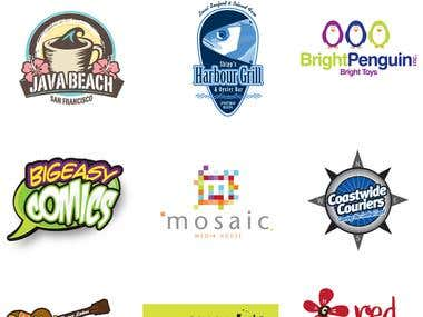 A small selection of Logo Designs