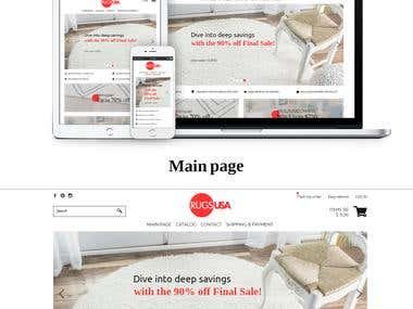 Rugs website