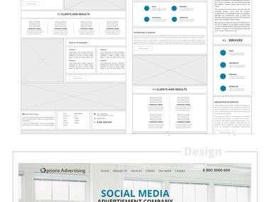 Web design adversting company