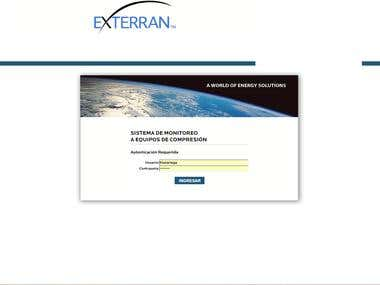 Sistema de Monitoreo de Compresoras Exterran