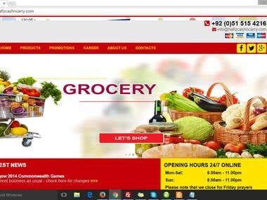 PHP Online Shopping Web