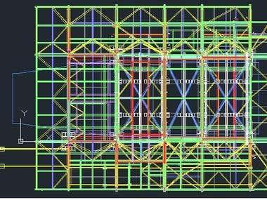 AUTO CAD STRUCTURE.