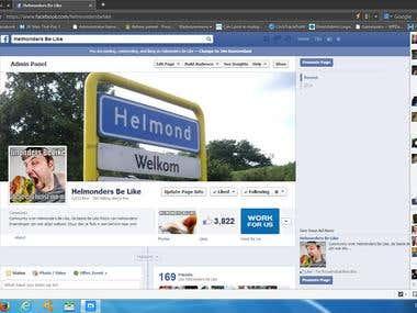 Facebook Fanpage / Fans