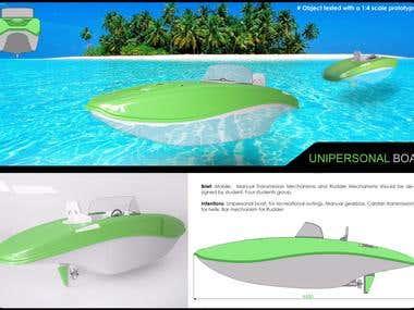 Unipersonal Boat
