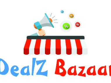 LOGO FOR DEALZ BAZAAR