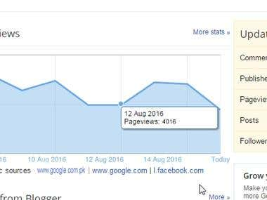 Can provide you blogger views daily
