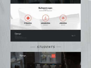 "Website for programming school ""Django"""