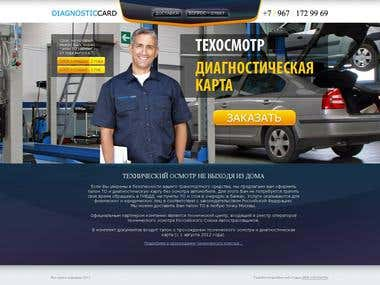 Diagnostic Card Web Design