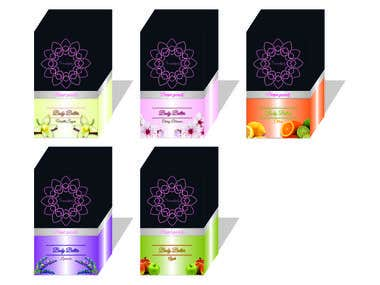 Package design - parfume
