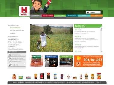 Wordpress : grupoherdez.mx