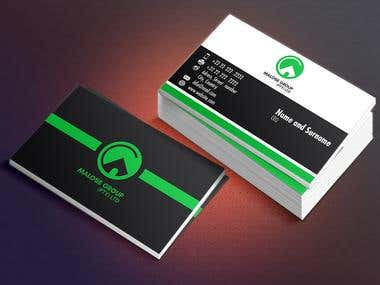 Malose group business card