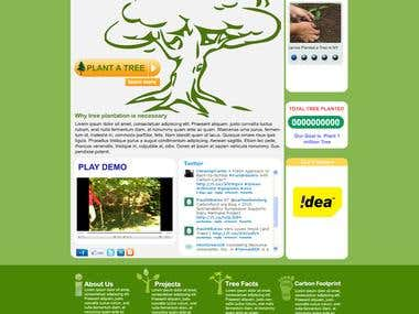 PSD Web Designing