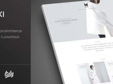 Premium WordPress Fashion Theme