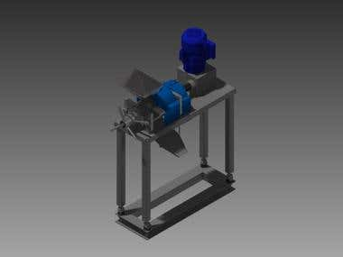 Extruder Press Design Expeller