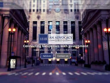 1818 Advocacy - http://www.1818advocacy.com/