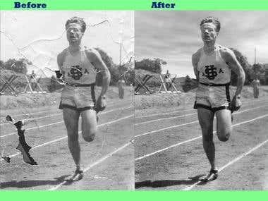Image Retouching,Enhancement ,Manipulation ,Restoration