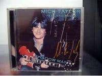 """Shadow Man"" CD featuring Mick Taylor"