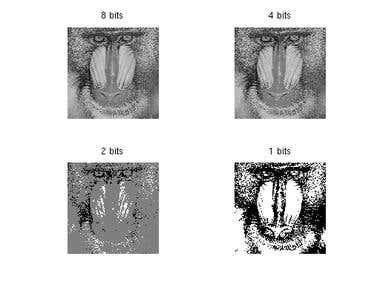Image processing - quantization