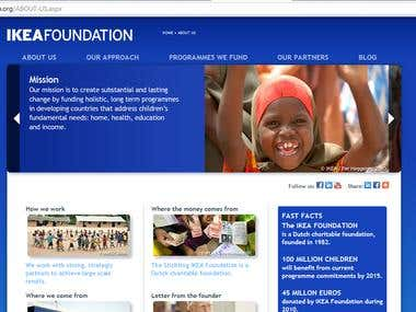 IKEAFoundation - The largest foundation on earth!