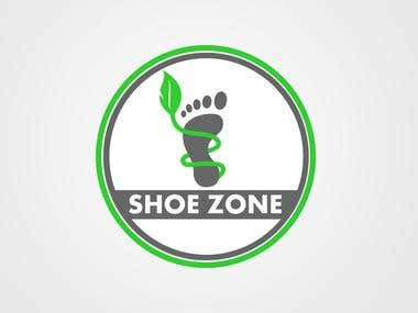 Logo for a shoe company