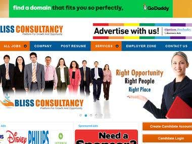 job portal development and design