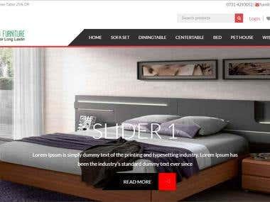 Richwood Furnitures E-commerce website