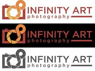 INFINITY ART Phogography logo design