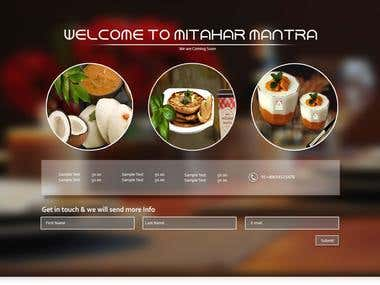 Mitahar Mintra Landing Page