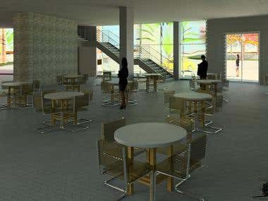 Dining project for a maternity clinic