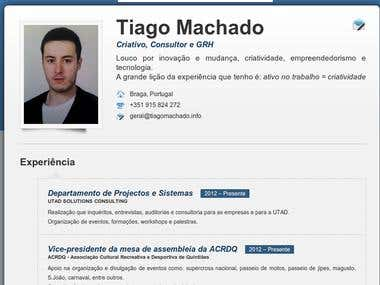Tiago Machado CV online