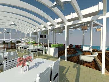 Sea Restaurant 3D