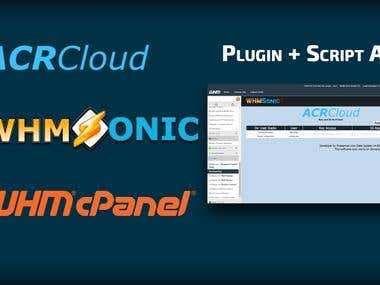 WHMSonic + WHM / cPanel + API AcrCloud.com