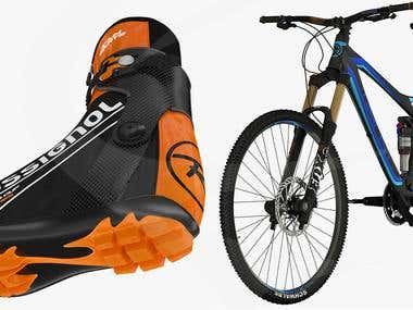 3D Sport Equipment