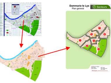 Map vectorization