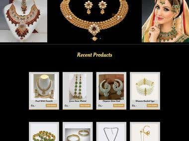 E-Commerce for Shine Collections - Online Jewellery