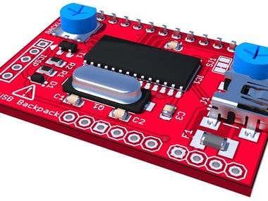 PCB Design for PIC USB