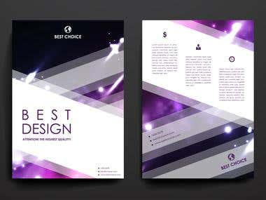 """Best choice"" Flyer design"