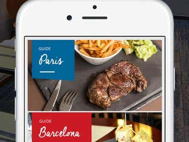 iOS: Food Drink App